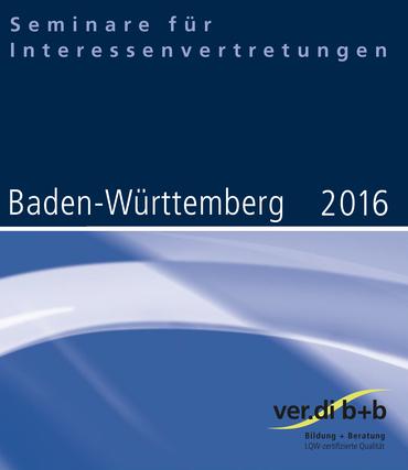 Seminare für Interessenvertretungen 2016 in Baden-Württemberg