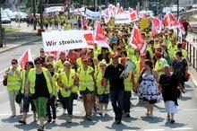 10.7.2013 - Streik-Demo in Mannheim