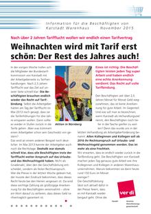 Karstadt-Info vom November 2015