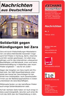 exChains-Nachrichten (02/2016)