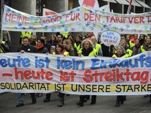 11.11.2013: Streikdemo in Stuttgart