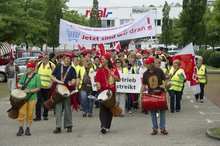 4.7.2013 - Streik-Demonstration in Ettlingen