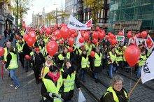 11.11.2013: Streikdemo in Mannheim