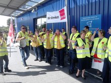 18.6.2013: Warnstreik bei Ikea Mannheim