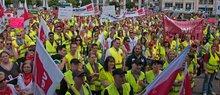 2.7.2013: Streikkundgebung in Essen