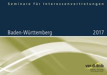 Seminare für Interessenvertretungen 2017 in Baden-Württemberg