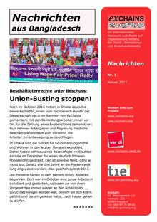 exChains-Nachrichten (01/2017)