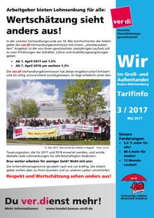 WIR im Groß- und Außenhandel BaWü (Tarifinfo 03/2017)
