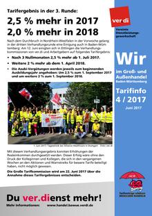 WIR im Groß- und Außenhandel BaWü (Tarifinfo 04/2017)