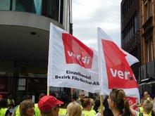 Mehr als 150 Streikende in Konstanz