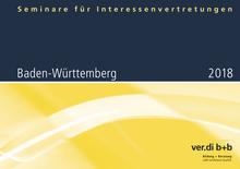 Seminare für Interessenvertretungen 2018 in Baden-Württemberg