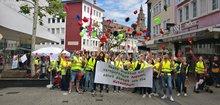 Streiks im Heilbronner Einzelhandel am 31.05.2019