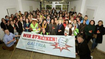 Streiks bei GALERIA Karstadt Kaufhof am 12.12.2019